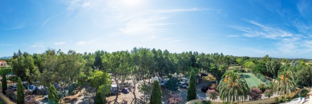 vue panoramique camping mouliere